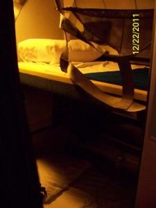 Roomette on Amtrak Sleeper Car