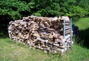 A Neat Woodpile