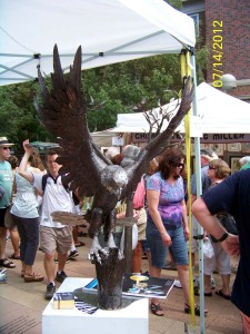 Eagle Sculpture