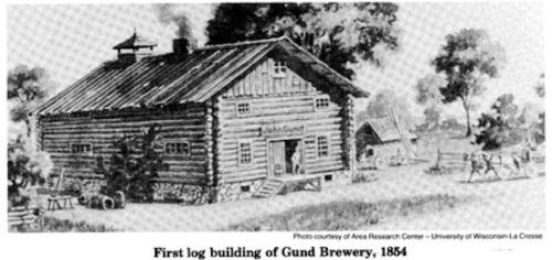 John Gund's brewery 1854