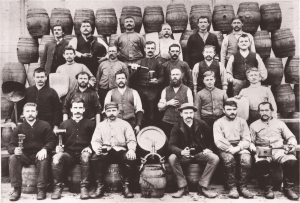 Photo #1 - John Gund Brewery Workers circa 1890