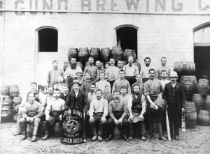 Photo #2 - John Gund Brewery Workers circa 1890