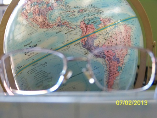 Viewing A Globe
